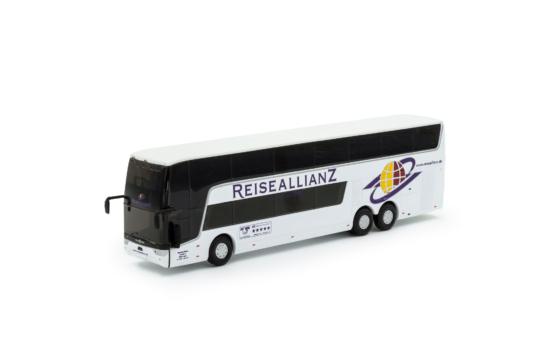 Scale Model Van Hool Astromega TX Reise Allianz